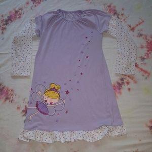Lil girls fairy nightgown sz 7